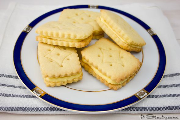 Custard Creams Recipe – Stasty