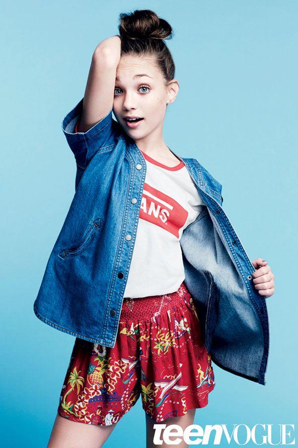 Maddie Ziegler Exclusive Teen Vogue Interview | TeenVogue.com