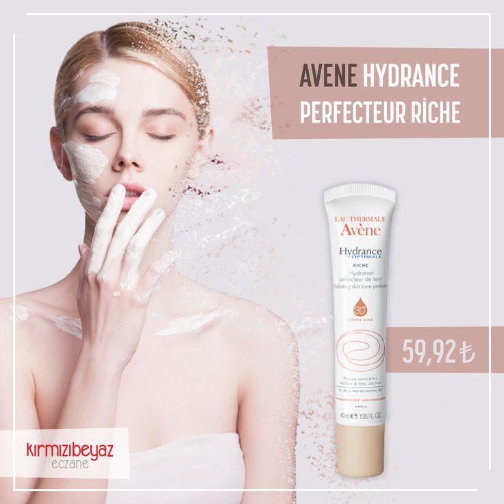 Tamamı eşit bir cilt tonu hayal değil. Avene Hydrance Perfecteur Riche ile tanışın: