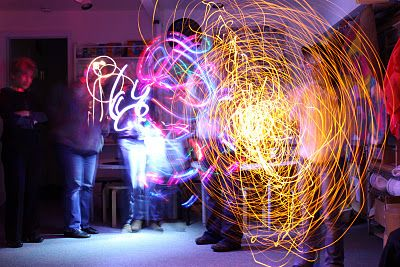 Art at the Center - A Studio Lab: January 2012 --> Light Painting for Studio