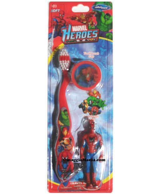 Spazzolino da denti Spiderman da testare gratis - http://www.omaggiomania.com/testare-prodotti-gratis/spazzolino-da-denti-spiderman-da-testare-gratis/