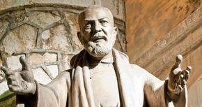 """Spiritual Warfare Lessons from St. Padre Pio whose Feast Day is today! September 23 from Padre Pio's spiritual director: It is useful...to make the Sign of the Cross...on your forehead while saying these words, """"May the Holy Spirit enlighten our senses and our hearts with his grace"""""""