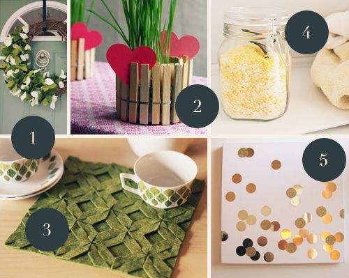 5 Easy Spring DIY Projects