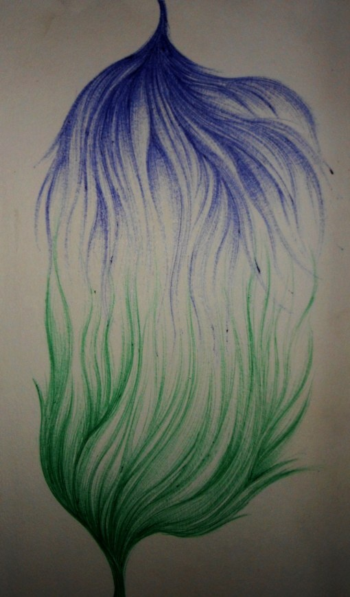 Unione #union #blue #green #pen #art #artist