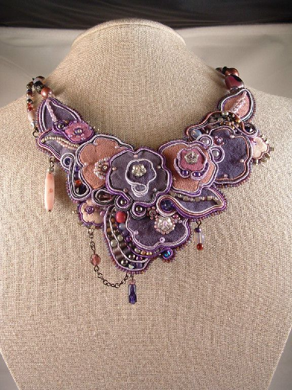 Amee K. Sweet-McNamara Soutache Jewelry Examples Past