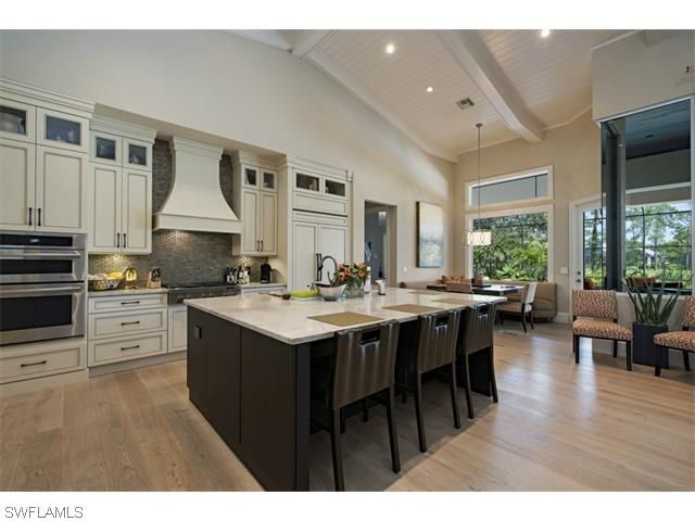 2427 Indian Pipe WAY, Naples, FL 34105 | Contemporary Golf Course Home In  North · Marble CountertopsCustom CabinetsWood ...