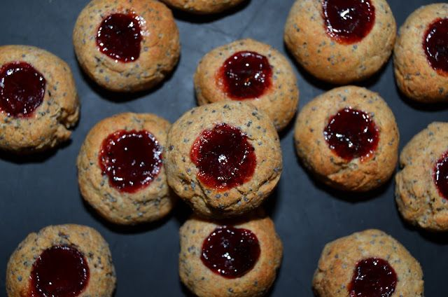 Mlsná máma : Celozrnné špaldové sušenky s mákem