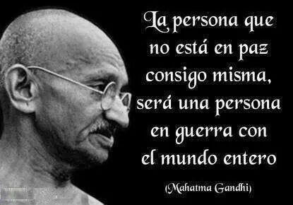 Gandhi pensamientos y frases