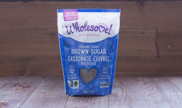Wholesome Sweeteners Organic Fair Trade Dark Brown Sugar, 681g