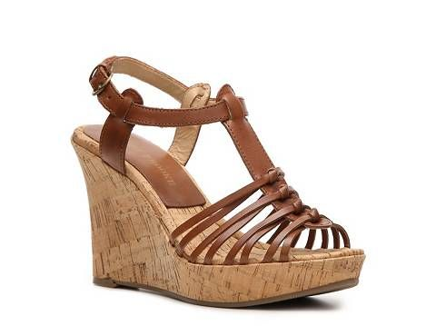 Audrey Brooke Caress Wedge Sandal Wedges Sandal Shop Women's Shoes - DSW.  Need a lower wedge than the Aldo ones I own.  Hovering over these.