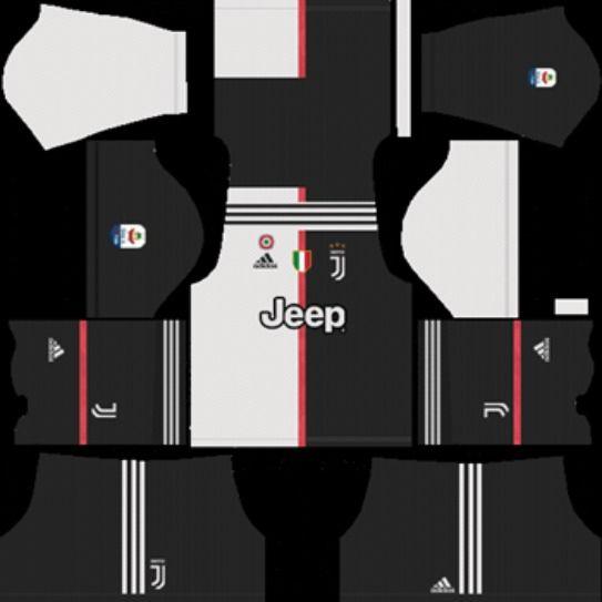 buy popular 28b54 9204e Juventus F.C. Kit 2019-2020 - Dream League Soccer Kits and ...