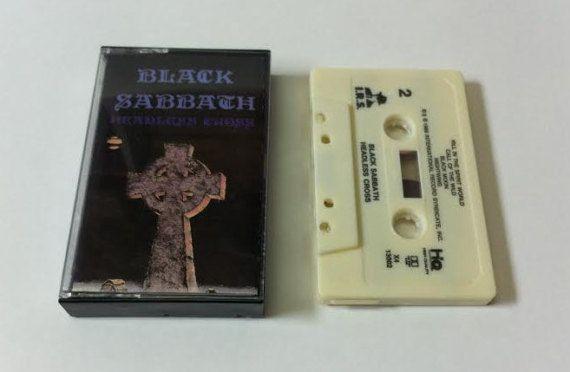 Black Sabbath  Headless Cross  vintage tape cassette audio