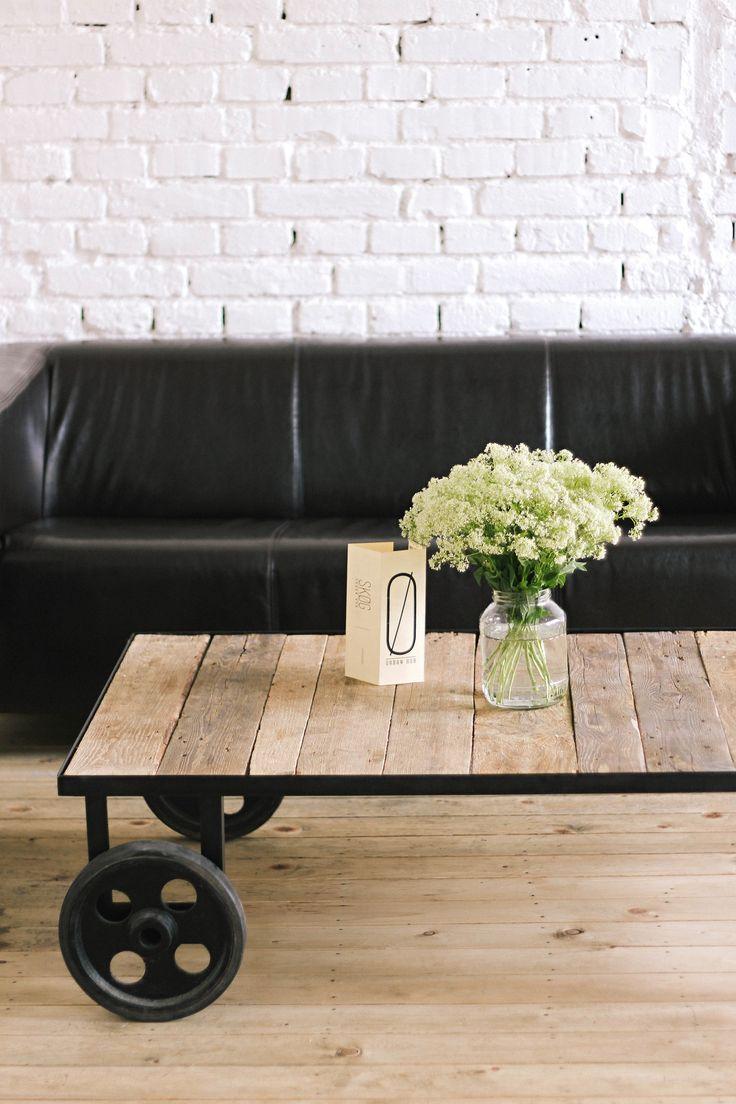 white | wildflowers | decoration | interior | cafe | SKØG Urban Hub | Brno