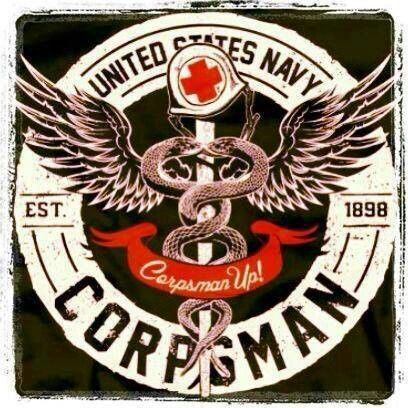 Corpsman best damn thing in the Navy.