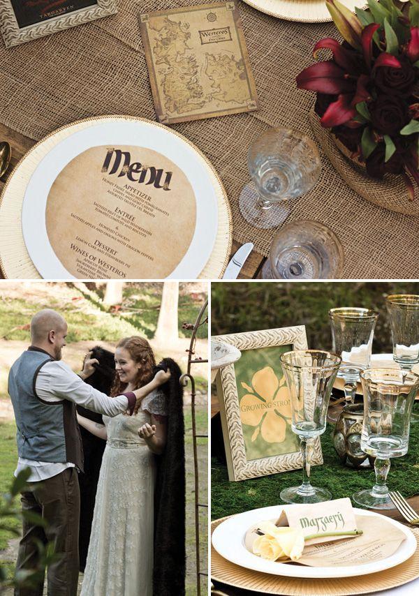 ¿Qué necesitas para montar una #boda a lo Juego de Tronos?