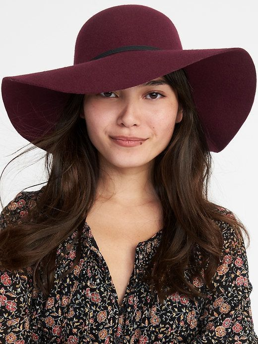 1fe80079e Old Navy Floppy Felt Hat for Women #HatsForWomenFloppy | Hats For ...