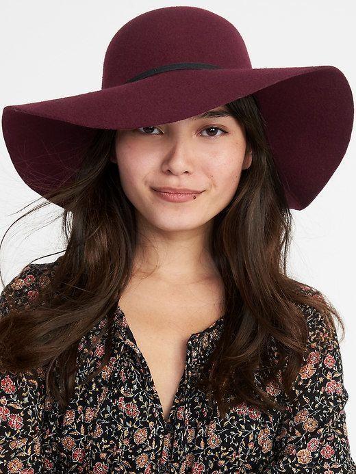 Old Navy Floppy Felt Hat for Women  HatsForWomenFloppy  77a79af982