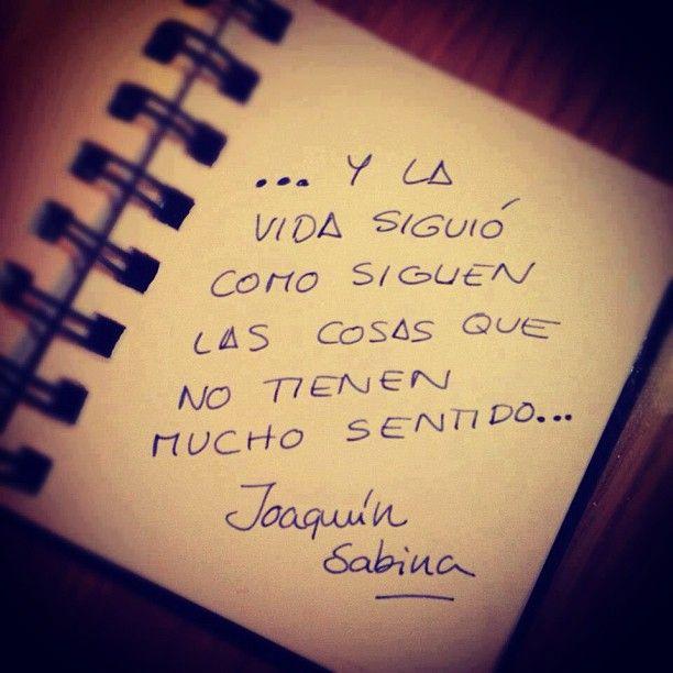 Donde habita el olvido - Joaquín Sabina