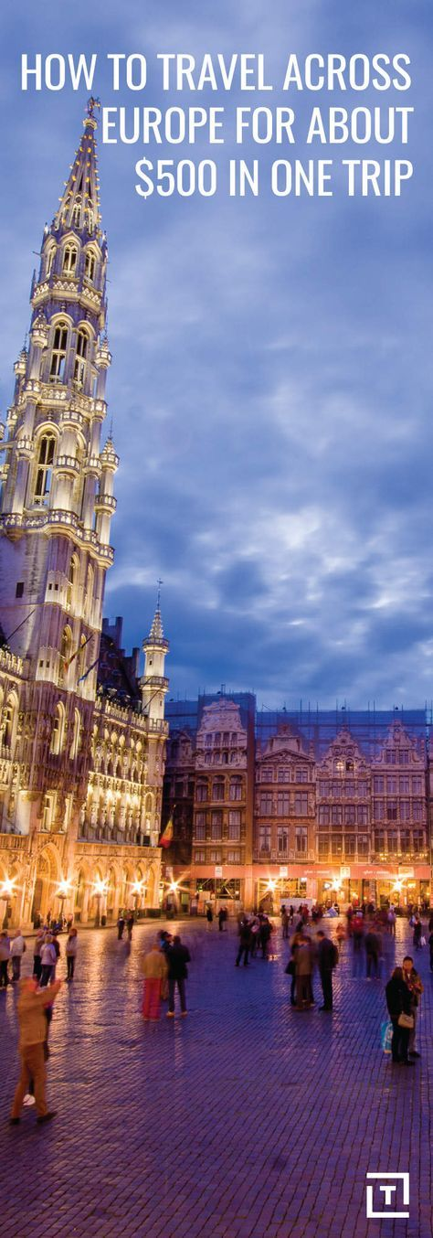 How to Travel Cheap in Europe Via Wanderu: Visit 15 Cities for Under $500