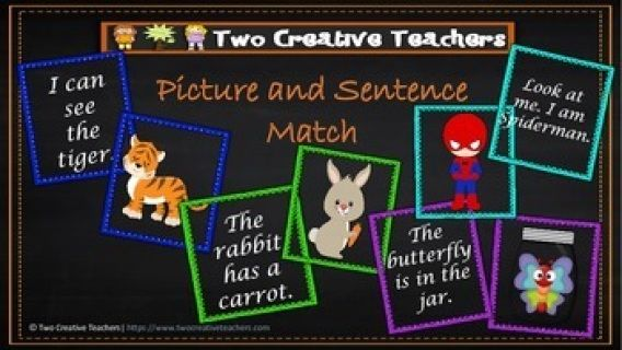 This resource is a great tool to help students practice their High Frequency Words, use the High Frequency Words in a sentence and match pictures to sentences for comprehension. It's a great activity to use in Literacy groups and my students love it.