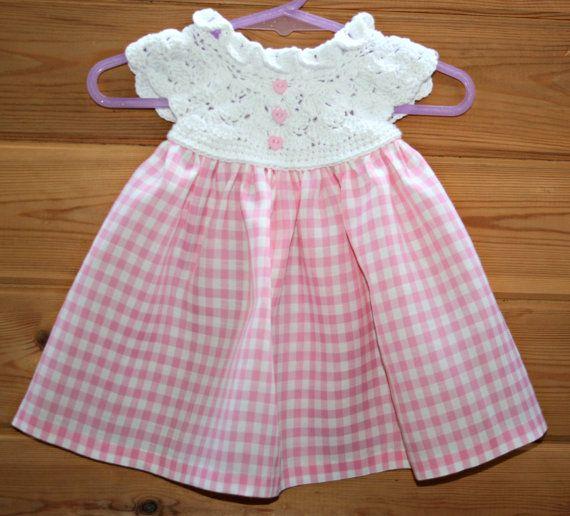 cute, crochet, baby, dress, spring summer, girls, gifts, baby crochet dress…