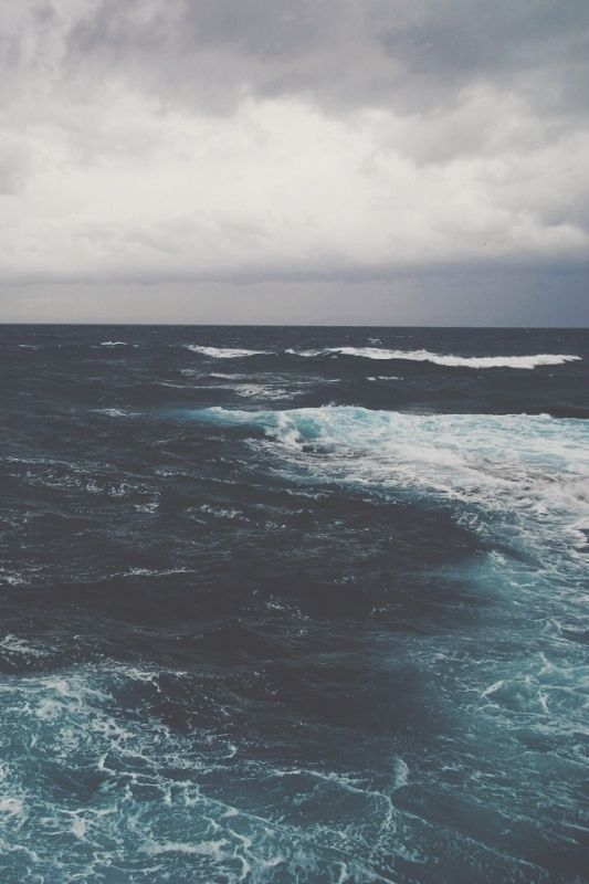 the blue sea, nature photography blvkkiss VSCO Grid