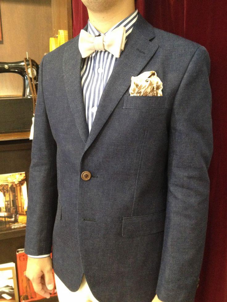 【デニム ジャケパン衣装】|結婚式の新郎タキシード/新郎衣装はメンズブライダルへ