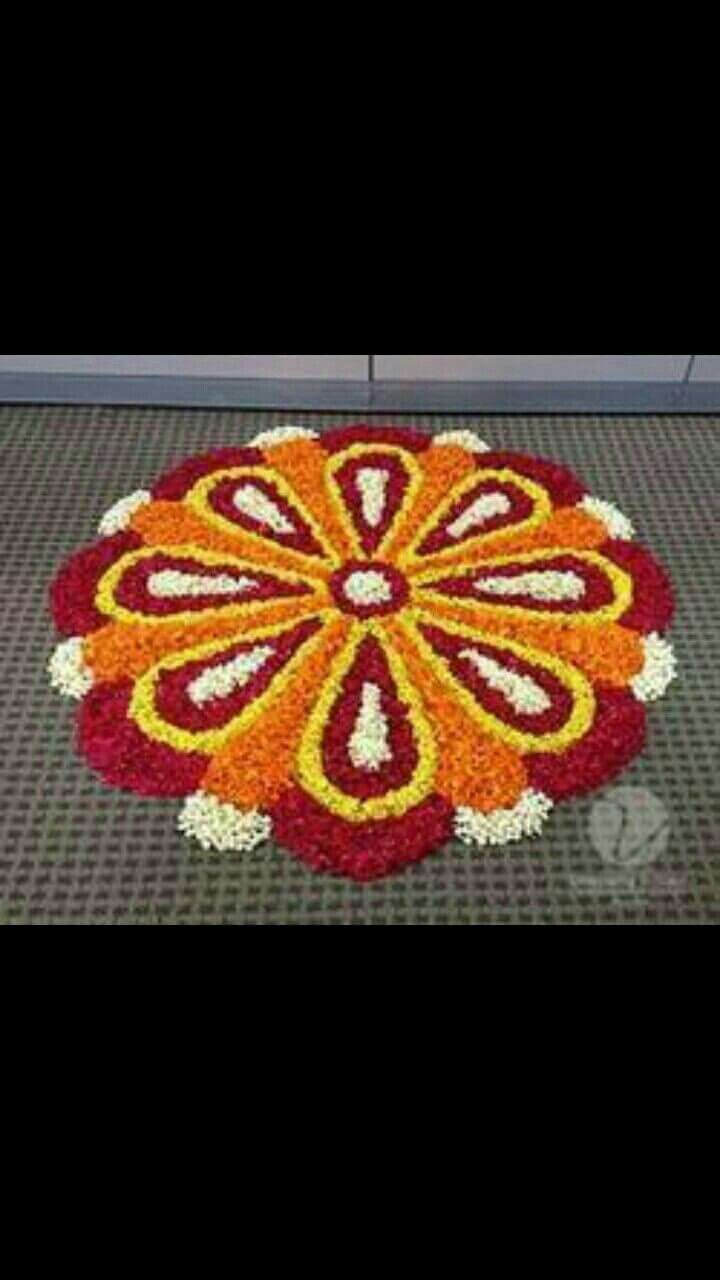 best 25 flower rangoli ideas on pinterest rangoli designs