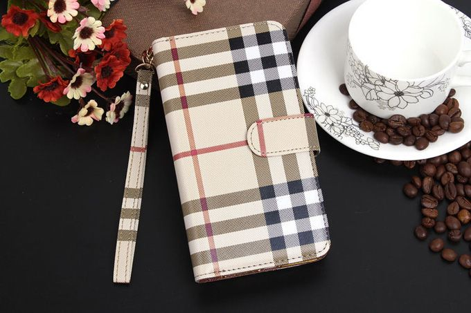 Burberry Galxy S5 Cases Beige Sleeve Coque Fundas Capa Para