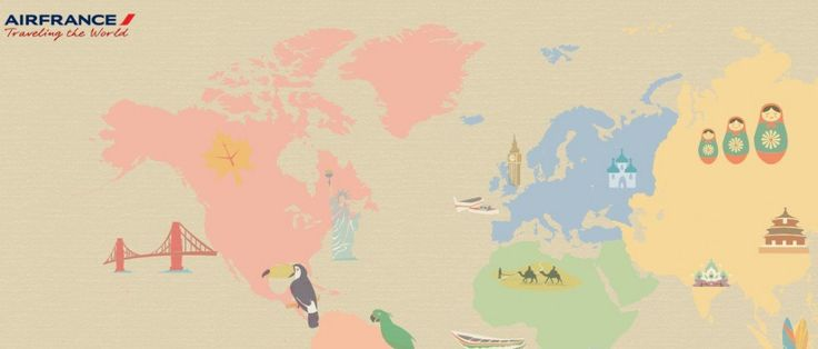Traveling The World is an online geography game from Air France that works like a sort of scavenger hunt. You've got to register in order to play it, but it takes seconds and, like me, you can log ...