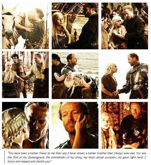 daenerys and jorah relationship quotes