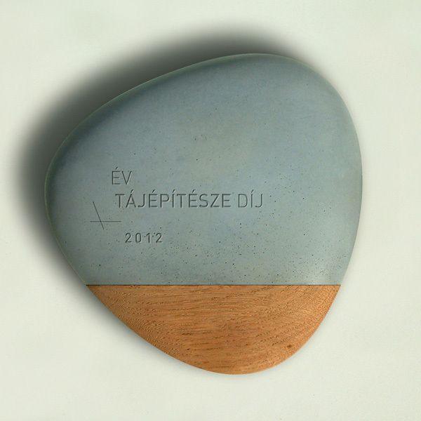 Landscape Architect Award by Zsombor Kiss - wood and concrete