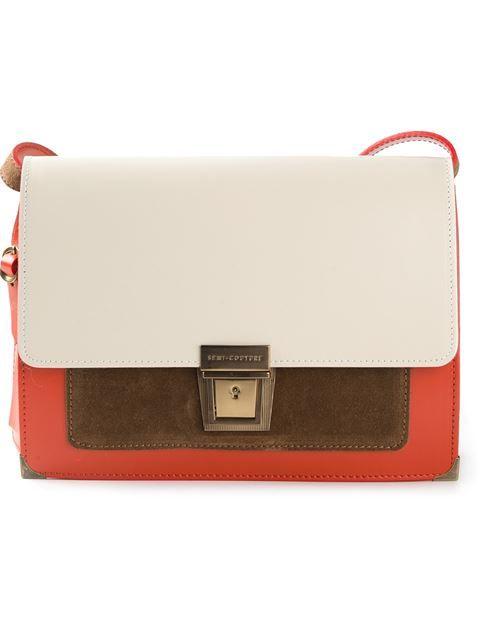 Erika Cavallini Semi Couture 'messenger Anna' Shoulder Bag - Penelope - Farfetch.com