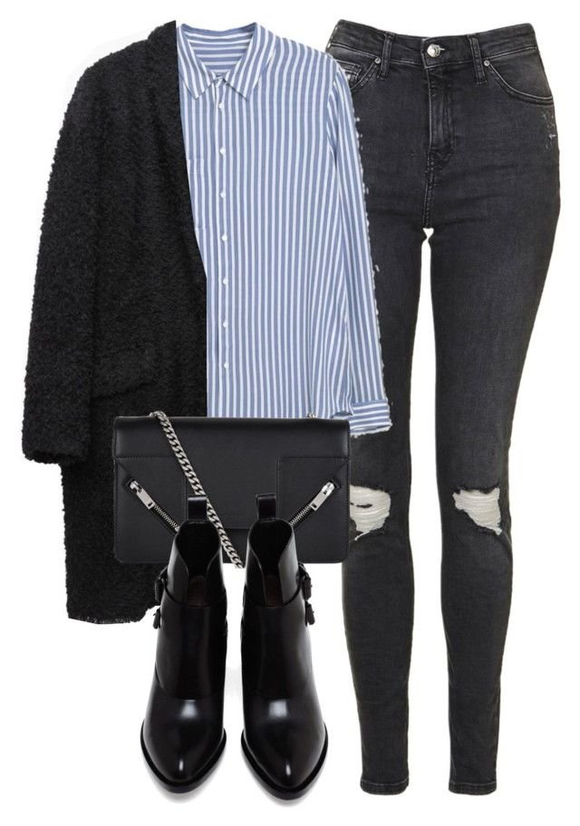 Untitled #6666 by laurenmboot on Polyvore featuring polyvore, fashion, style, MANGO, Isabel Marant, Topshop, Alexander Wang, Yves Saint Laurent and clothing