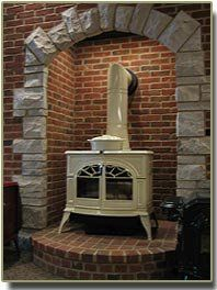 1000 Images About Wood Stove Alcove Ideas On Pinterest