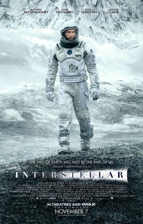 Matthew McConaughey é um astronauta explorador no novo pôster de Interestelar
