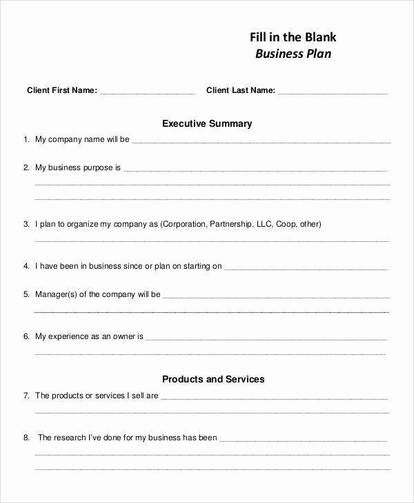 Blank Business Plan Template Word Fresh Blank Business Plan Template Pdf Blank Business Pr Business Plan Template Business Plan Template Word Business Planning