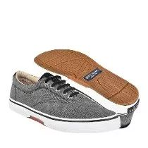 Sperry Zapatos Caballero Casuales Sts13147 25-28 Textil Gris