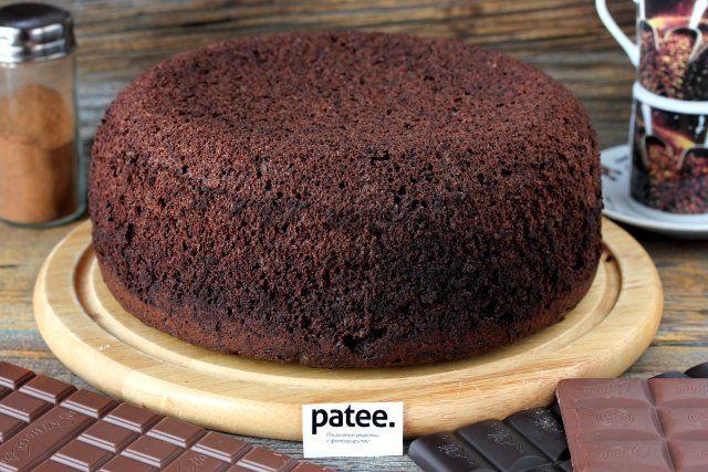Шоколадный шифоновый бисквит в мультиварке - рецепт для мультиварки - patee.ru Chiffon cake