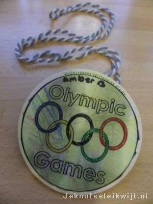 Medaille olympische spelen