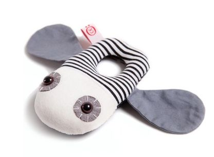 Cute selection of new soft cotton baby rattles from Oots. Very Scandinavian, right?