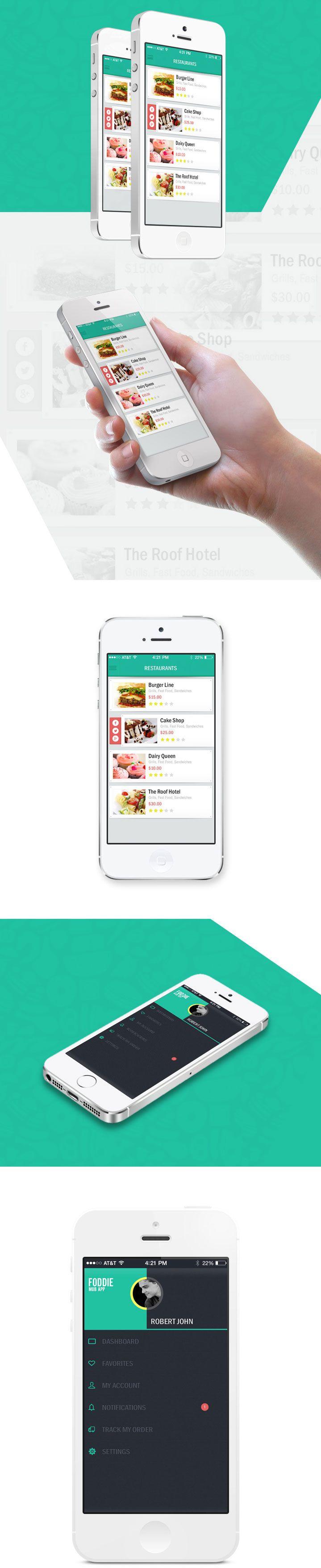 Restaurant Sample iPhone App