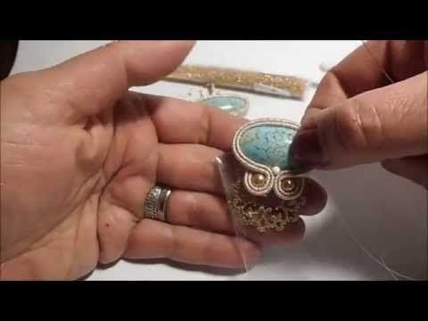 This soutache jewelry tutorial shows how to make a soutache necklace and is an advanced bead embroidery project. Soutache is a very interesting technique. So...