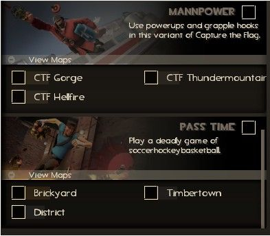 Is there a reason barely anyone plays these gamemodes? #games #teamfortress2 #steam #tf2 #SteamNewRelease #gaming #Valve