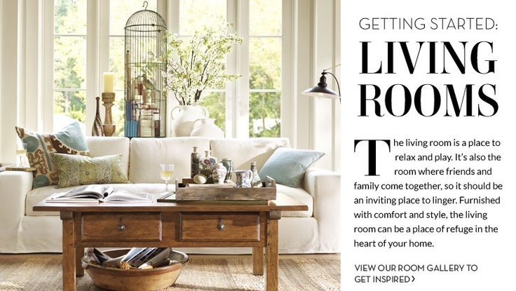 love this pottery barn living room home decor ideas pinterest