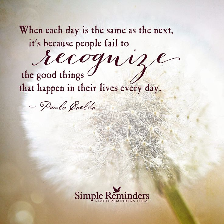 Its A Good Day To Die Quote: When Each Day Is The Same As The Next, Its Because People