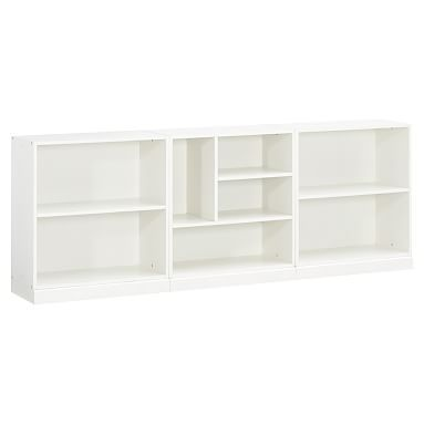 Stack Me Up Low Bookcase Set Pb