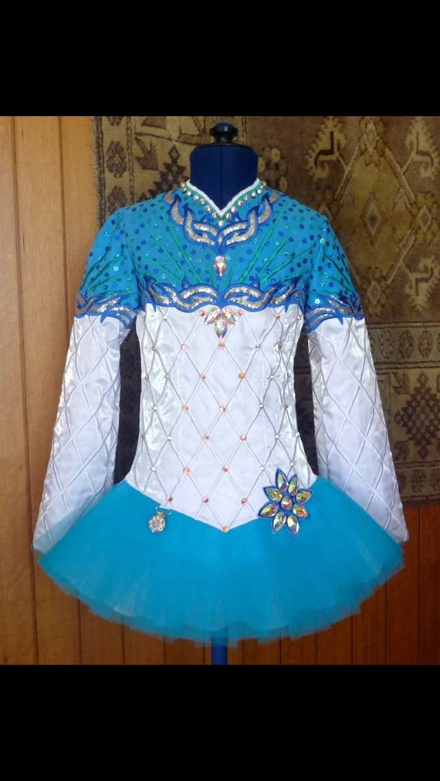 Mary Skotnicki Irish Dance Solo Dress Costume                                                                                                                                                                                 Plus