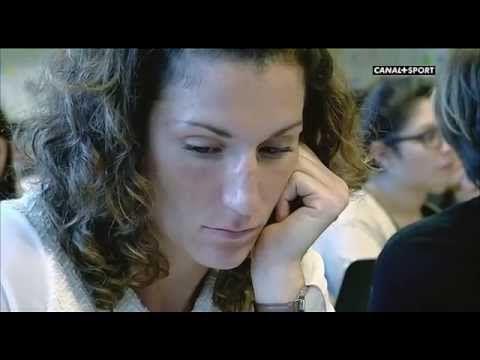 ▶ la séance rugby Fanny Horta - Canal+ - Février 2015