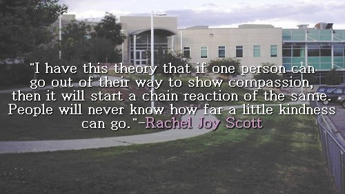 Rachael Joy Scott. 1st victim of the columbine shooting. <3